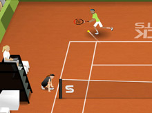 Stick Tennis - Daily Challenge
